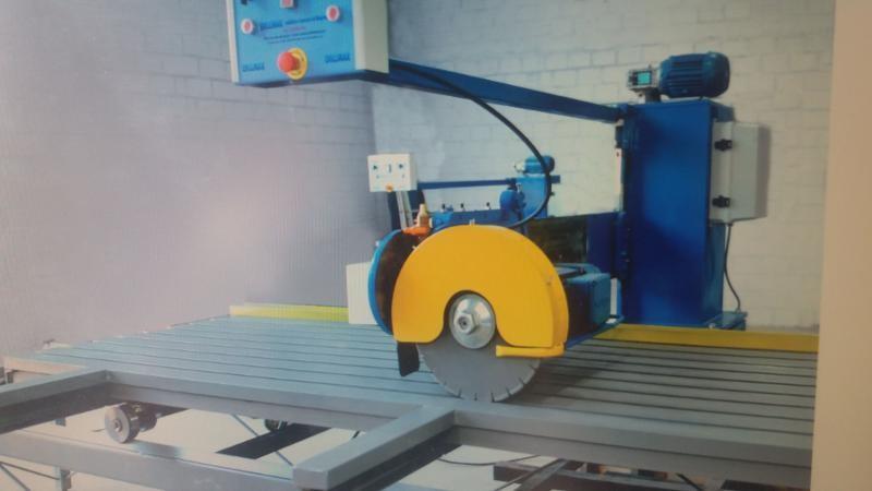 Maquina de serra marmore de bancada